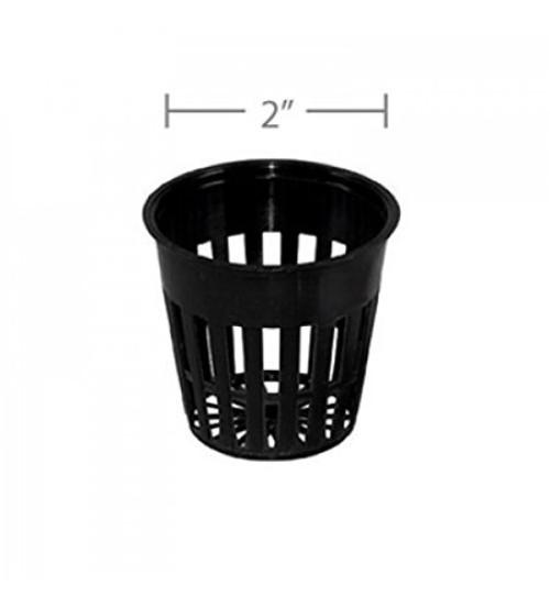 """Net Pot in 2"""" inch Black Colour (20 Pieces)"""