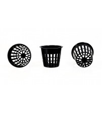 "Net Pot in 3"" inch Black Color ( 20 Pieces )"