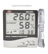 Digital Humidity Thermometer Indoor/Outdoor