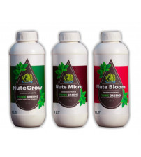 Hydroponic Nutrients, 3 Part (1 Letter Each)